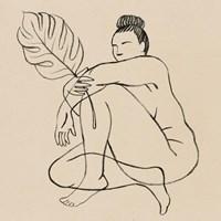 Femme Figure IV Framed Print