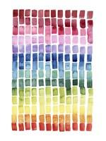 Under the Rainbow I Framed Print