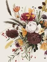Equinox Bouquet I Framed Print