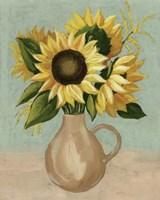 Sunflower Afternoon I Framed Print