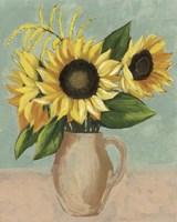 Sunflower Afternoon II Framed Print