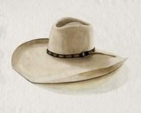 Cowboy Hat I Framed Print