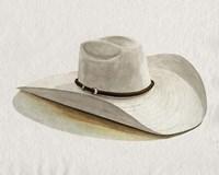 Cowboy Hat II Framed Print
