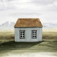 Nordic Cottage I Framed Print