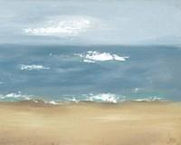 By the Beach II Framed Print