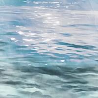 Shimmering Waters I Framed Print