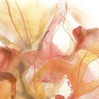Sunset Marble I Framed Print
