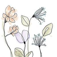 Spindle Blossoms VI Framed Print