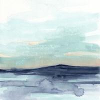 Ocean Morning Mist II Framed Print