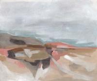 Tectonic Plateau I Framed Print