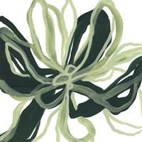 Emerald Bloom II Framed Print