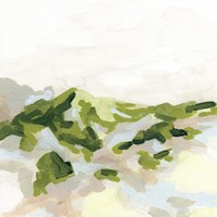 Emerald Hills I Framed Print