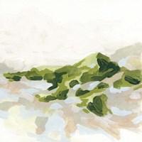 Emerald Hills II Framed Print