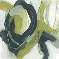 Verdigris Motion IV Framed Print
