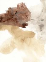 Tectonic Geyser II Framed Print