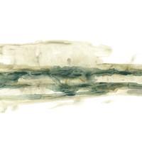 Verdigris Ribbon II Framed Print