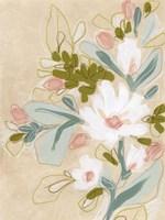Spring Sketch II Framed Print