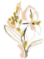 Liminal Floral IV Framed Print