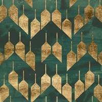 Tile Tableau II Framed Print