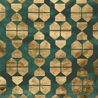 Tile Tableau IV Framed Print