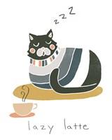 Coffee Cats II Framed Print