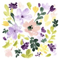 Lavender Meadow II Framed Print