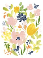 Meadow Potpourri I Framed Print