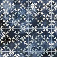 Tile-Dye III Framed Print