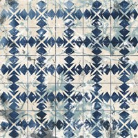 Tile-Dye VI Framed Print