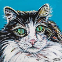High Society Cat II Fine Art Print
