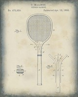 Patented Sport IV Framed Print