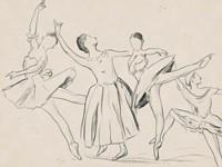 La Ballerine I Framed Print