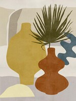 Decorated Vases II Framed Print