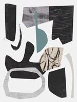 Underground Shapes I Framed Print
