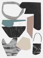 Underground Shapes III Framed Print