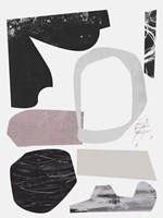 Underground Shapes VI Framed Print