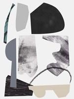 Underground Shapes VII Framed Print