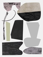 Underground Shapes VIII Framed Print