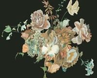 Blooming in the Dark III Framed Print