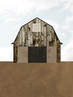 A Barn's Portrait II Framed Print