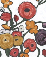 Stretching Blooms I Framed Print