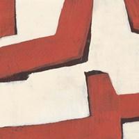 Red Thread II Framed Print