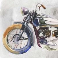Moto Metal I Framed Print