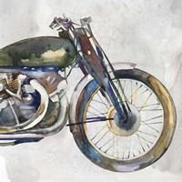 Moto Metal II Framed Print