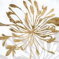 Golden Gilt Bloom I Framed Print