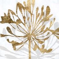 Golden Gilt Bloom II Framed Print