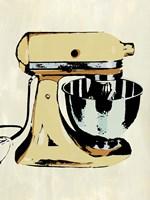 Retro Kitchen Appliance IV Framed Print