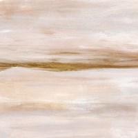 Golden Horizon I Framed Print