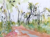 Fire Trail Through Loftus Ridge Fine Art Print