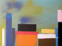 Urban Hues 06 Framed Print
